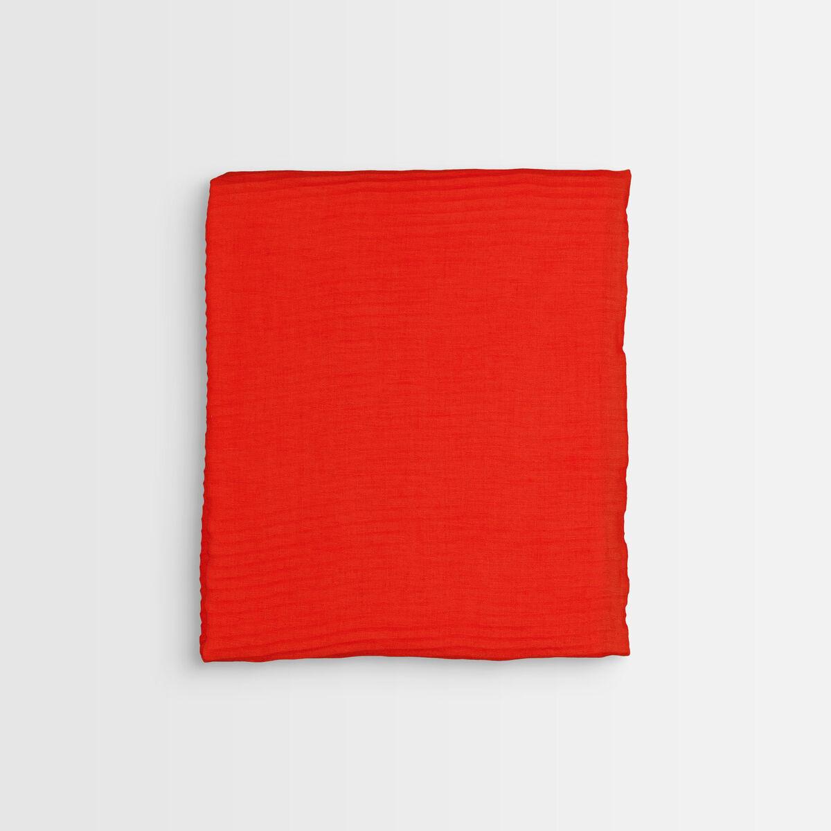 Foulard plissé rouge Barry PhotoZ | 1-2-3