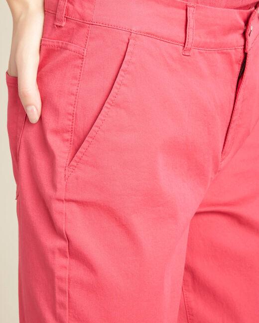 Pantalon fuchsia ceinturé slim Francis (2) - 1-2-3