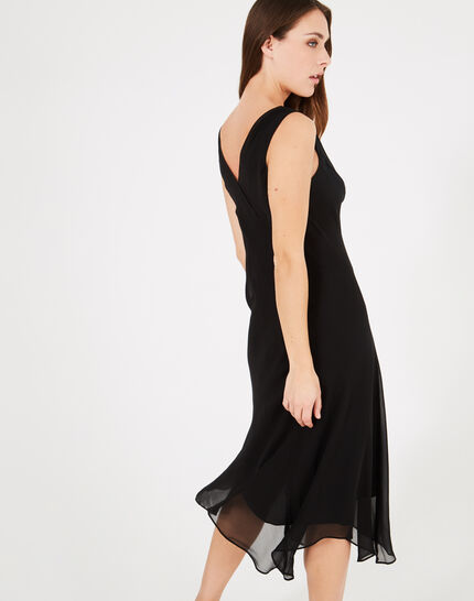 Foret long black dance dress (2) - 1-2-3