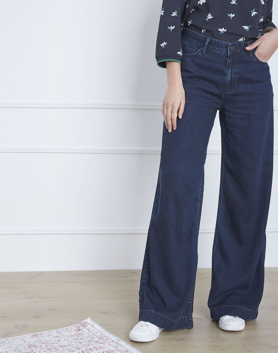 Jean flare taille haute Chamade (2) - 1-2-3