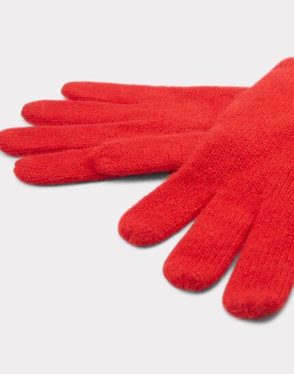 Rote Kaschmir-Handschuhe Tulipe (2) - 1-2-3