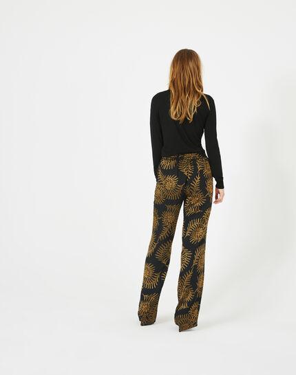 Pantalon imprimé floral Kara (5) - 1-2-3