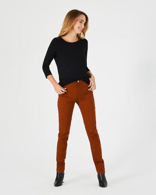 Toffeefarbene Slim-Fit-Jeans William (2) - 1-2-3