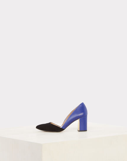 Noa scalloped two-tone pointed-toe heels (2) - 1-2-3