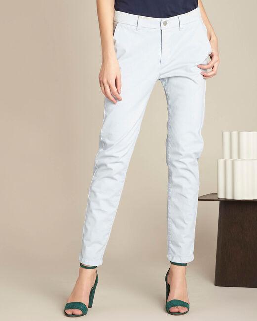 Pantalon bleu ciel chino Valentin (2) - 1-2-3