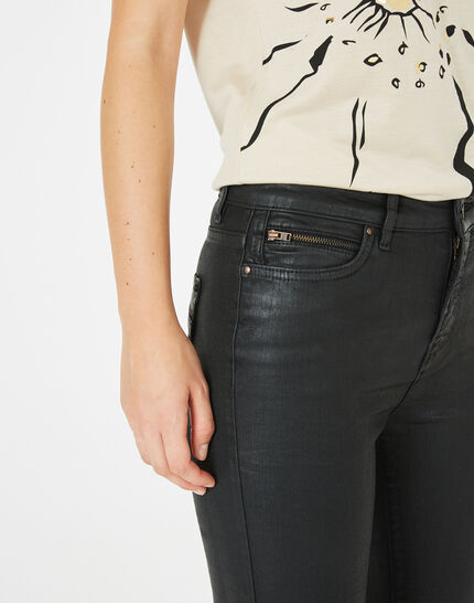 William coated slim-cut black trousers (3) - 1-2-3