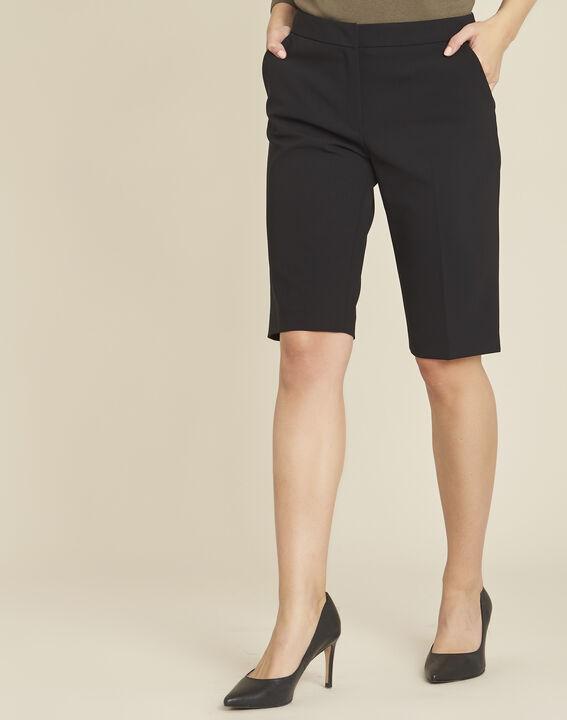 Hinox black microfibre Bermuda shorts PhotoZ | 1-2-3
