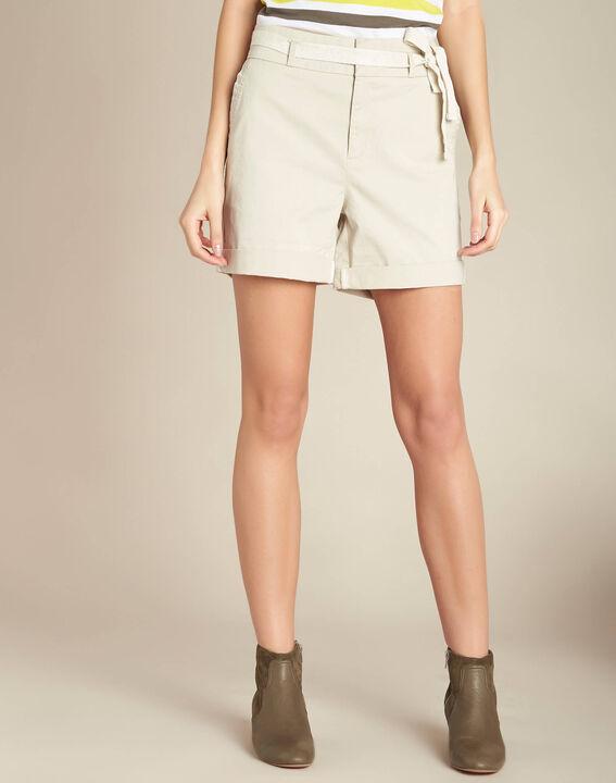 James ecru cotton shorts (3) - 1-2-3