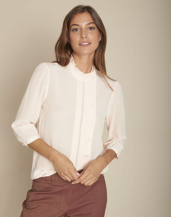 Blouse soie nude Motene PhotoZ | 1-2-3