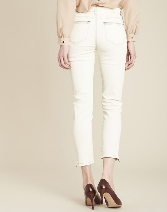 Opéra cream coated jeans (4) - 1-2-3