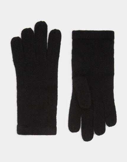 Schwarze Kaschmir-Handschuhe Tulipe PhotoZ | 1-2-3