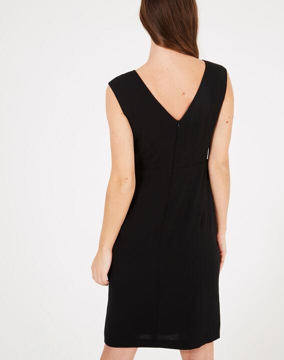 Gamma black dress with diamanté detailing (4) - 1-2-3