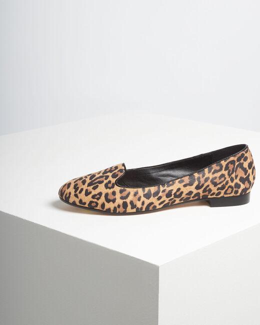 Ballerines imprimé léopard en cuir Kim (2) - 1-2-3