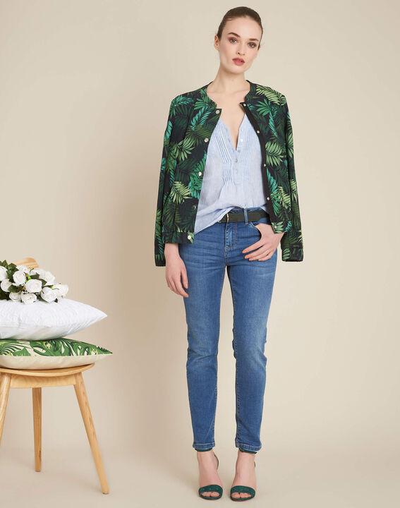 Gebleichte Slim-Fit-Jeans Vendome (2) - 1-2-3