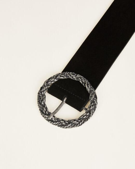 Ofelia black leather belt (1) - 1-2-3
