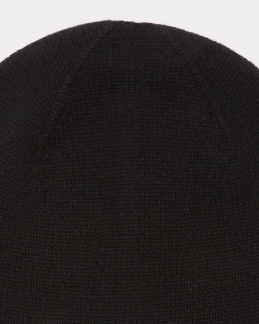 Bonnet noir en cachemire Tilleul (2) - 1-2-3