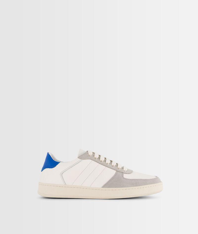 Sneakers van twee soorten leder Vicky PhotoZ   1-2-3