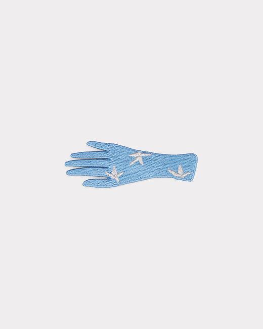 Broche bleue fantaisie Ista (2) - 1-2-3