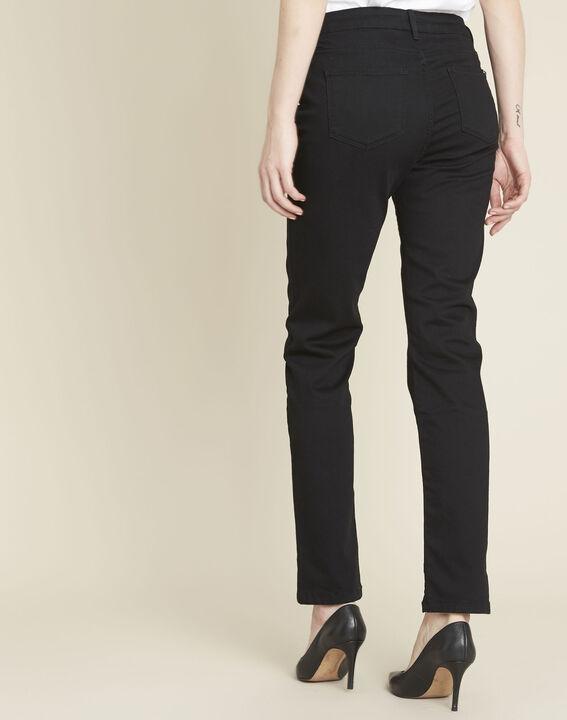 Zwarte straight-fit jeans Vivienne (4) - 37653