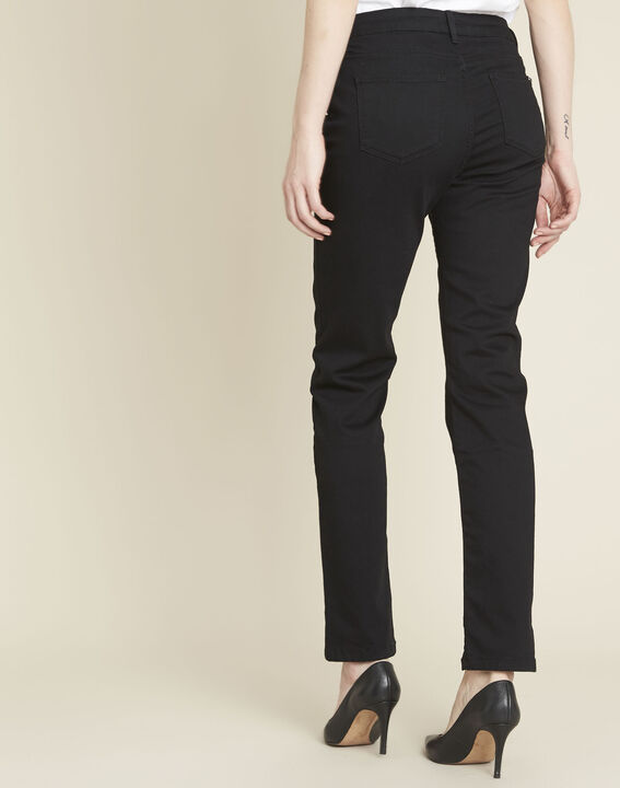 Schwarze gerade Jeans Vivienne (4) - 1-2-3