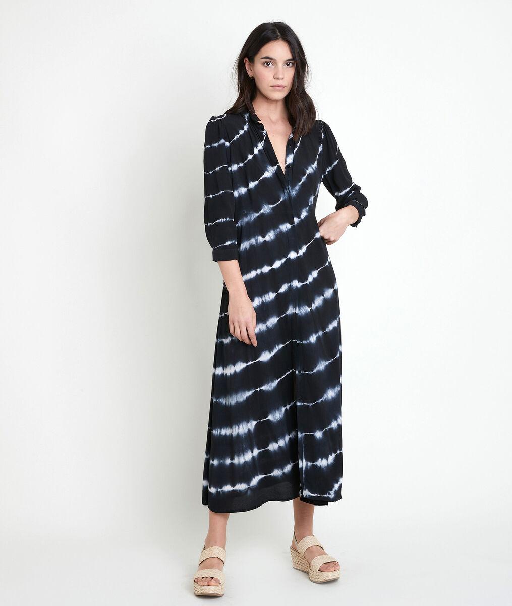 Robe chemise longue tie & dye Laurice PhotoZ | 1-2-3