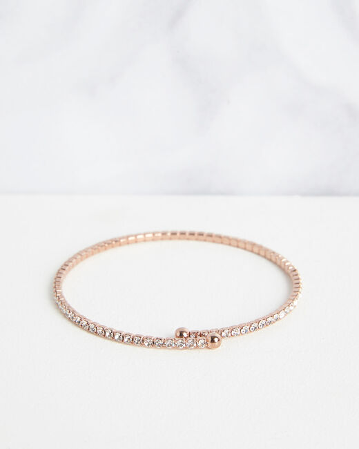 Bracelet brillant rose gold Olympe (1) - 1-2-3