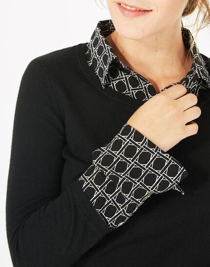 Pull chemise Pepita (3) - 1-2-3