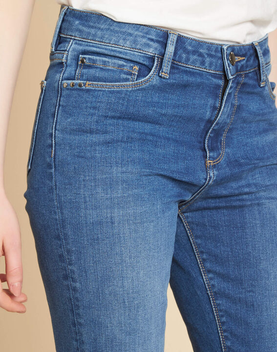 Indigo spijkerbroek met recht model Vivienne PhotoZ | 1-2-3
