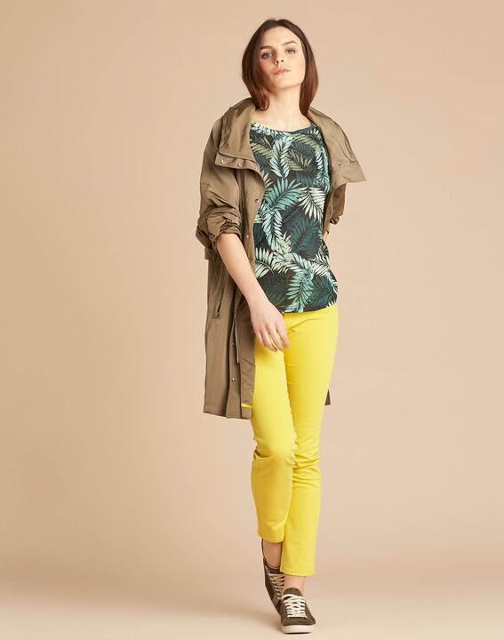 Vendôme slim-cut standard size lemon jeans (2) - 1-2-3