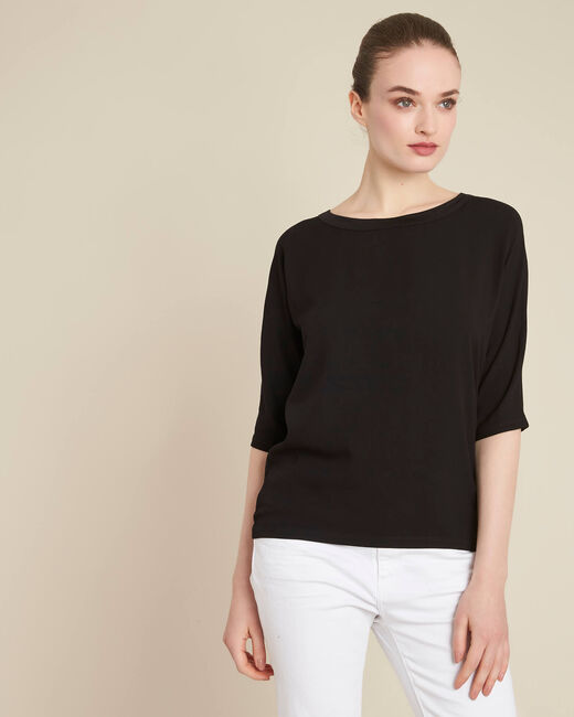 Guillem black blouse with bow at the back (2) - 1-2-3