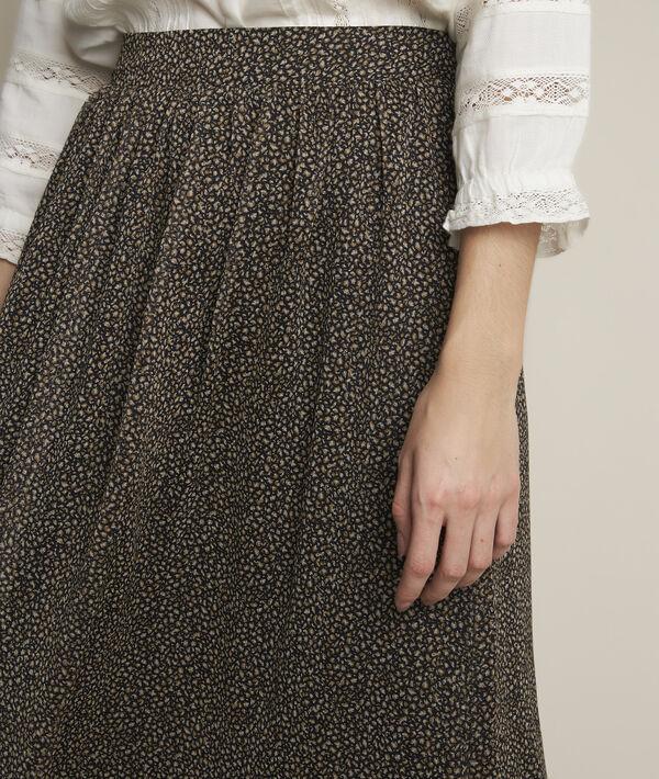 Jupe longue imprimé peau de bête Belle PhotoZ | 1-2-3