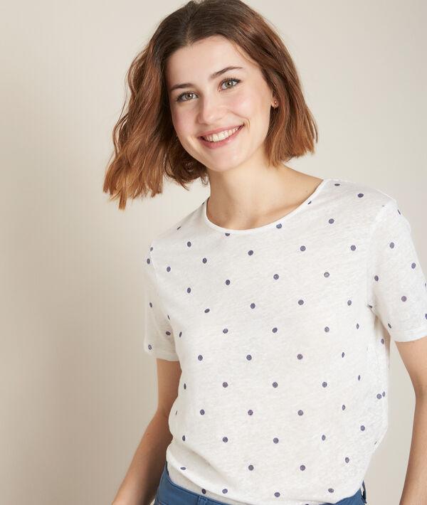 Tee-shirt en lin à pois Roxane PhotoZ | 1-2-3