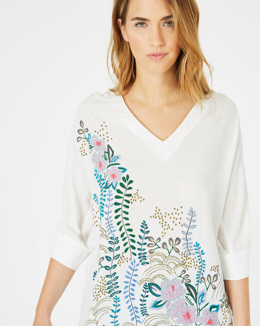 Dune printed blouse with bare shoulders (2) - 1-2-3