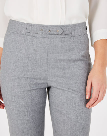 Vupsy tailored grey trousers with turn-ups (3) - 1-2-3