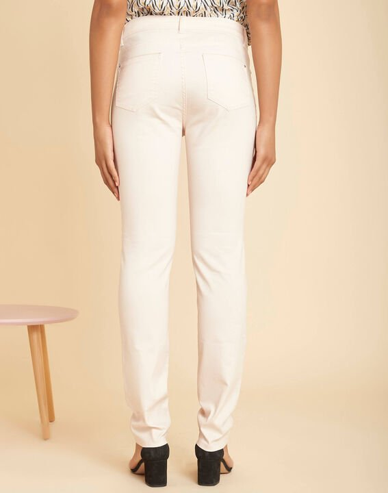Valley regular fit pale pink slim-cut coated jeans (4) - 1-2-3