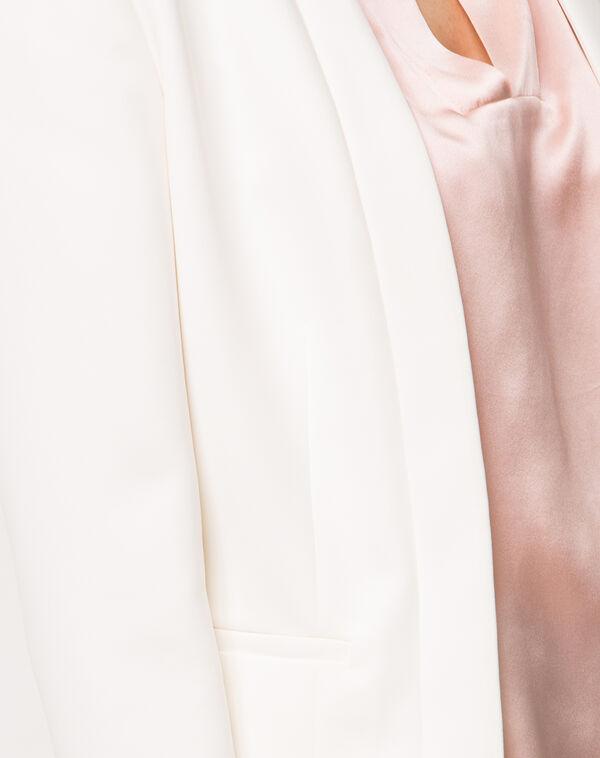Veste écrue courte louise à
