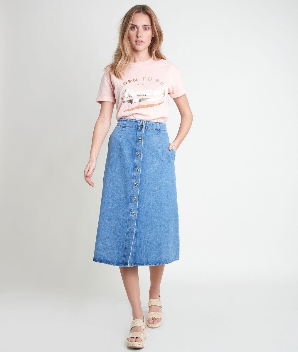 Tee-shirt rose imprimé Iventure PhotoZ   1-2-3