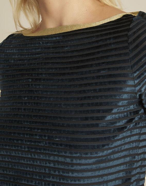 Donkergroen shirt van fluweel Glover (3) - 37653