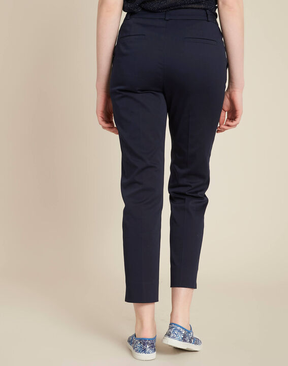 Rubis ⅞-length navy trousers (4) - 1-2-3