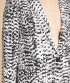 Veste noir & blanc imprimée Demoiselle PhotoZ | 1-2-3