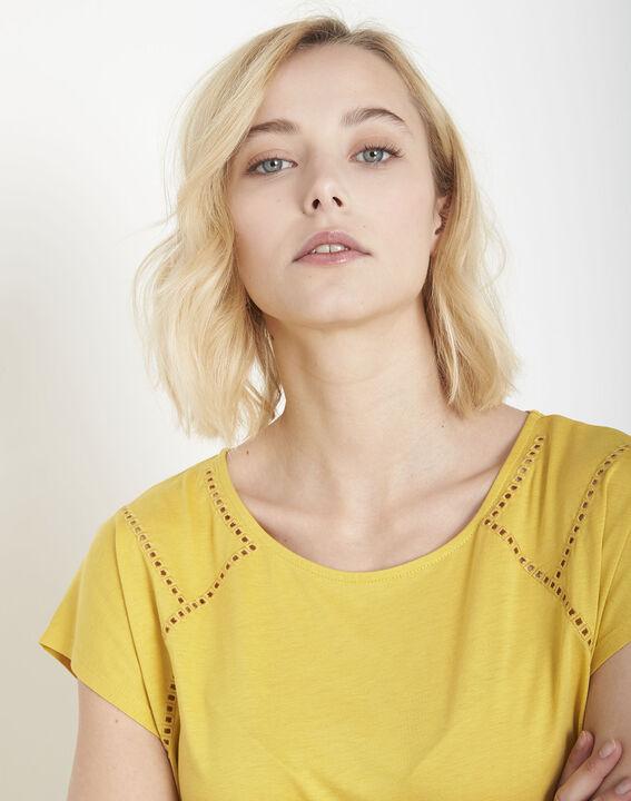 Tee-shirt jaune jour échelle Provence (3) - Maison 123