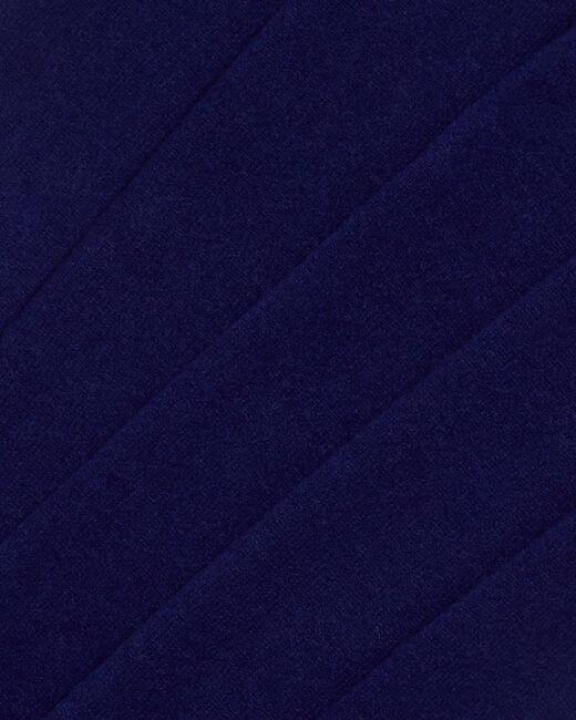 Echarpe bleue en cachemire Tournesol (2) - 1-2-3