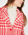 Jude red check coat in jacquard (3) - 1-2-3