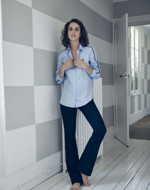 Le Vintage flare : jean  rinse Saphir PhotoZ | 1-2-3