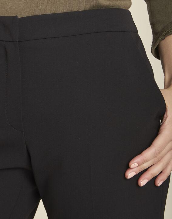 Hinox black microfibre Bermuda shorts (3) - 1-2-3