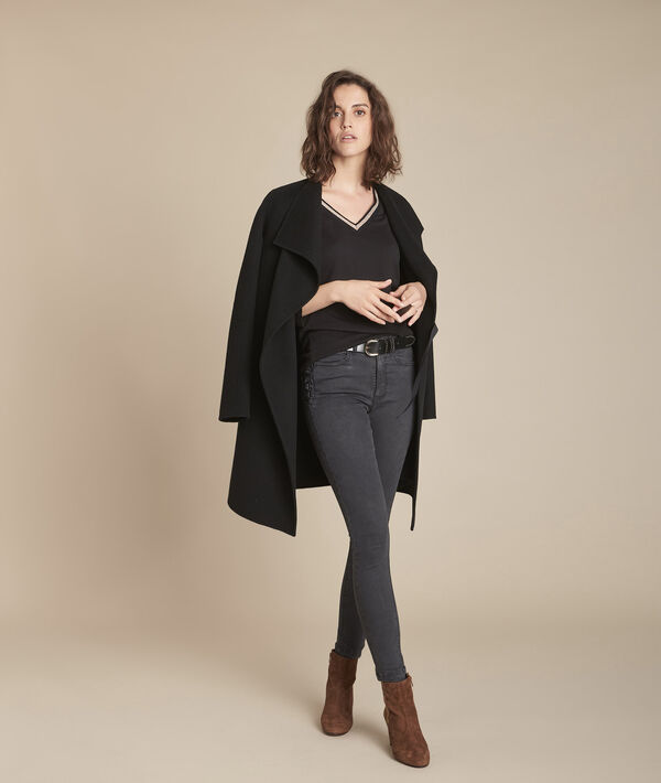 L'Audacieux skinny : jean black used Sally PhotoZ | 1-2-3