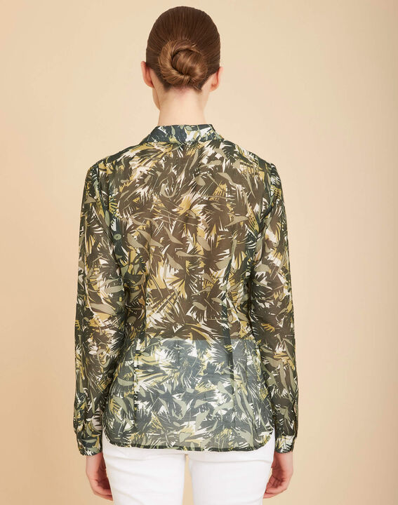 Ravel camouflage printed blouse (4) - 1-2-3