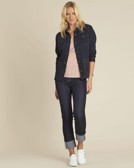 Veste en jean poches plaquées en coton Smile (1) - 1-2-3