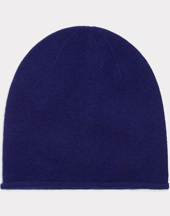 Bonnet bleu en cachemire Tilleul PhotoZ | 1-2-3