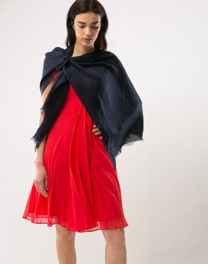 Robe rouge en soie Loulou (5) - 1-2-3